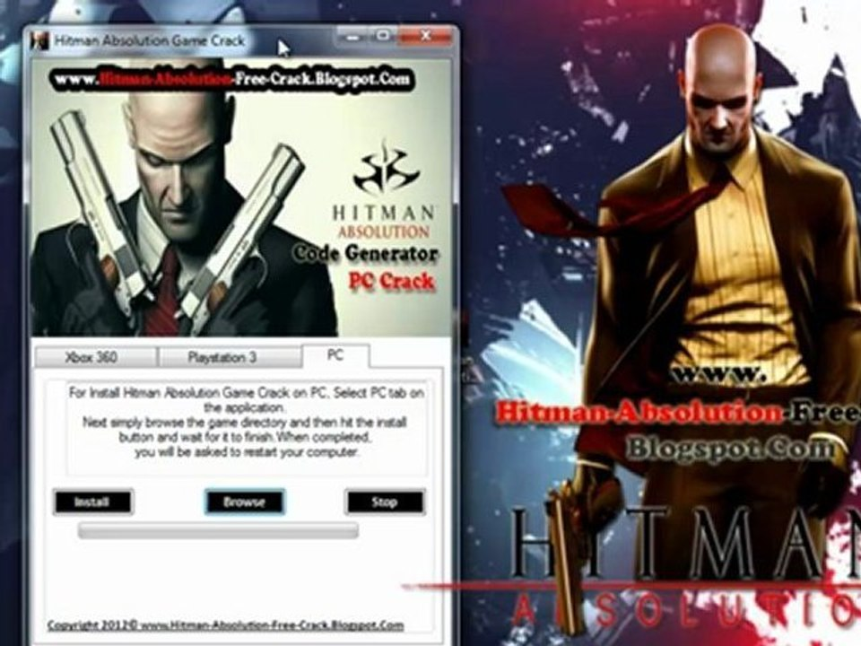 Hitman Absolution Skidrow Setup Crack Redeem Codes Video
