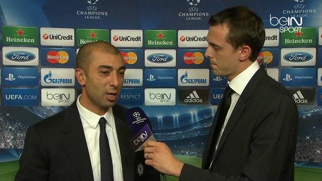 Di Matteo au micro de beIN SPORT après Juventus - Chelsea en Champions League