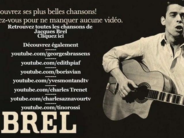 Jacques Brel -  Ne me quitte pas - Paroles (Lyrics)