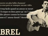 Jacques Brel - Grand Jacques - Paroles (Lyrics)