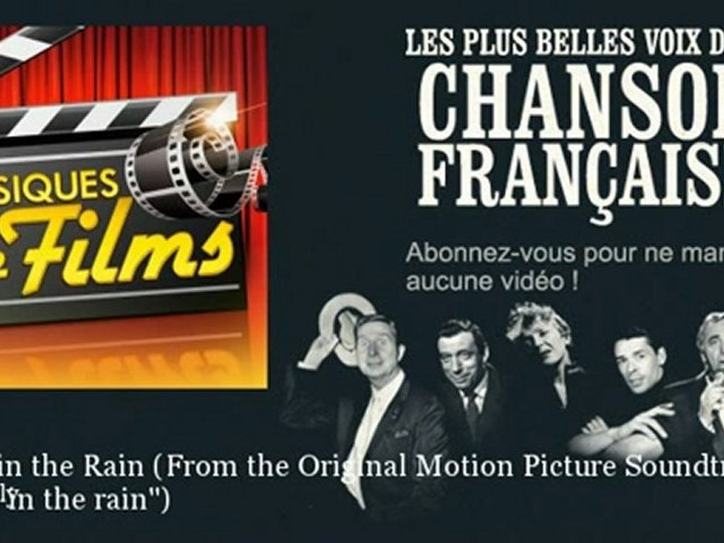 Gene Kelly - Singin in the Rain - From the Original Motion Picture Soundtrack