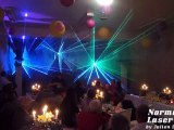 Show laser pour mariages et tout évènements