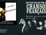 Georges Brassens - Corne d'Auroch - Chanson française