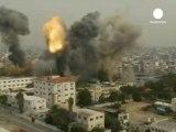 Gaza - Les raids Israéliens font une dizaine de Morts
