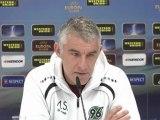 Hannover 96 gegen Enschede ohne Mame Diouf