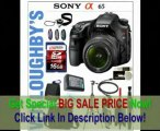 [SPECIAL DISCOUNT] Sony Alpha SLT-A65 Digital SLR Deluxe Kit Includes Sony SLT-A65V Digital SLR Camera with Sony AF DT 18-55 F3.5-5.6 SAM + LexSpeed 16GB Class 10 + Lowepro Deluxe Camera Bag + Extra Spare Battery + 6' H