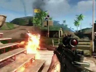Weapons Trailer de Far Cry 3