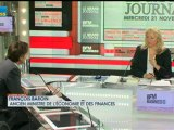 21/11 BFM : Le Grand Journal d'Hedwige Chevrillon - François Baroin et Olivier Zarrouati 1/4