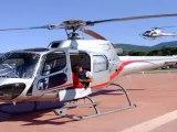 elicottero precipita due morti