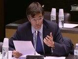 Commission élargie du 5 novembre 2012 : intervention de François de Mazières sur les crédits de la culture et du patrimoine