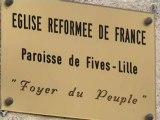 Lille-Fives: des sans-papiers occupent l'Eglise réformée