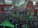 Iraq: milioni di sciiti a Kerbala celebrano l'Ashura