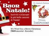 Buon Natale Karaoke.Comet We Wish You A Merry Christmas Instrumental Karaoke