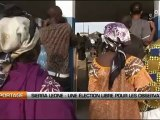 Sierra Leone: Une élection libre pour les observateurs
