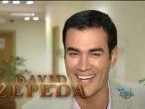 Besos de David Zepeda @davidzepeda1  y Angelique Boyer derrochan un Abismo de Pasión
