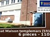 Vente - maison/villa - templemars (59175)  - 110m²