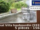 Vente - maison/villa - haubourdin (59320)  - 156m²