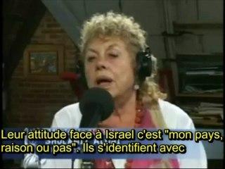 Interview de Shulamit Aloni, ex-ministre israelienne