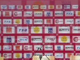 Conférence de presse Stade de Reims - Stade Brestois 29 : Hubert FOURNIER (SdR) - Landry CHAUVIN (SB29) - saison 2012/2013