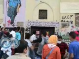 وكالة أونا ترصد محاولات اقتحام الليسيه بمحمد محمود