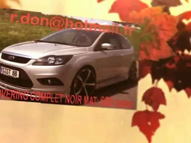 Ford Focus, Ford Focus, essai video Ford Focus, covering Ford Focus, Ford Focus noir mat