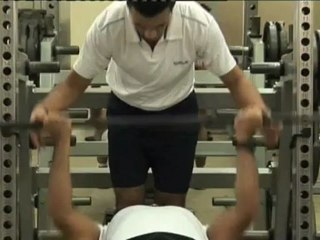 Best Chest Workout ShortCuts: Flat Barbbell Supine Chest Press