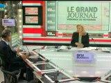 23/11 BFM : Le Grand Journal d'Hedwige Chevrillon - Pierre-Franck Chevet et François Auque 1/4
