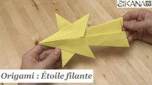 Origami : Comment faire une étoile filante en papier ? - HD