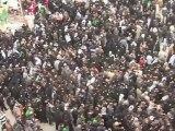 ثلاثة ملايين زائر احيوا ذكرى عاشوراء في كربلاء