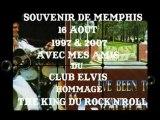 """ROLLMOPS  CHEZ ELVIS PRESLEY A MEMPHIS TENNESSE U.S.A 16 AOUT 1997 ET 2007 """"ROLLMOPS"""""""