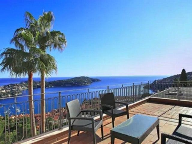 Appartement à vendre VILLEFRANCHE SUR MER (06) - Duplex vue mer - 227m2