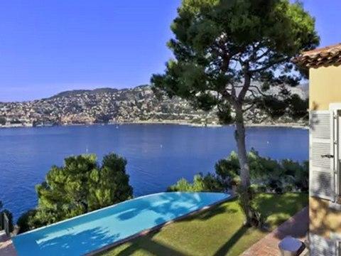 Villa à louer Saint-Jean-Cap-Ferrat - 5 chambres - vue mer - piscine - 350m2