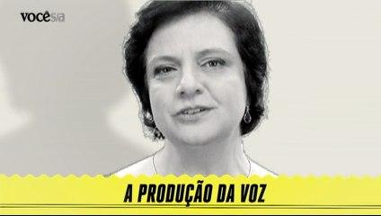 A produção da voz