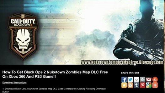 Download Black Ops 2 Nuketown 2025 Map DLC - Xbox 360 / PS3 - video