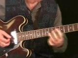 Barney Kessel Jazz Guitar Lesson 1