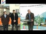 Inauguration du marché du Quai du Roi à Orléans - Intervention du Président de l'AgglO