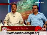 WAQT 8pm with Fareeha Idress:  Five year progress of PPP govt & Unemployment in Pakistan