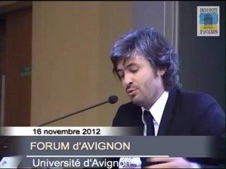 #FA2012 Jour 2 :  Session à l'université d'Avignon (partie 1)