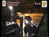 Cosenza - 'Ndrangheta, arrestato il boss latitante Ettore Lanzino (16.11.12)