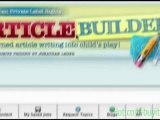 article submission service review   Automatically Post Content To Your Blogs   Article Builder