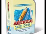 article distribution services   Automatically Post Content To Your Blogs   Article Builder