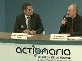 Actionaria 2012 : Agora des Présidents de PAREF - Alain PERROLLAZ, Président du Directoire