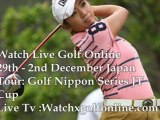 Golf 2012 Nippon Series JT Cup Live Online