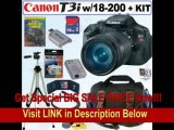 [BEST BUY] Canon EOS Rebel T3i 18 MP CMOS Digital SLR Camera with Sigma 18-200mm f/3.5-6.3 DC Wide Angle Super Zoom Lens + 16GB Deluxe Accessory Kit