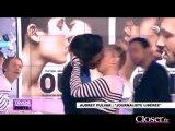 Audrey Pulvar embrasse Enora Malagré sur D8