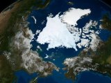 Arctic Sea Ice Melts to Lowest Recorded Level