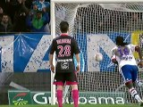 But Bafetimbi GOMIS (3ème pen) - Olympique de Marseille - Olympique Lyonnais (1-4) - saison 2012/2013