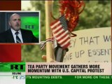 Everyone's invited to the Tea Party: Movement leader speaks to RT