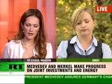 Medvedev and Merkel meeting in Sochi
