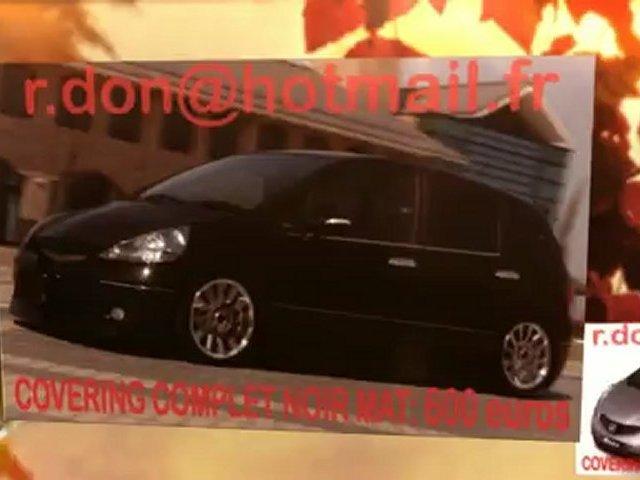 Honda Jazz, Honda Jazz, essai video Honda Jazz, Honda Jazz, covering, Honda Jazz peinture noir mat